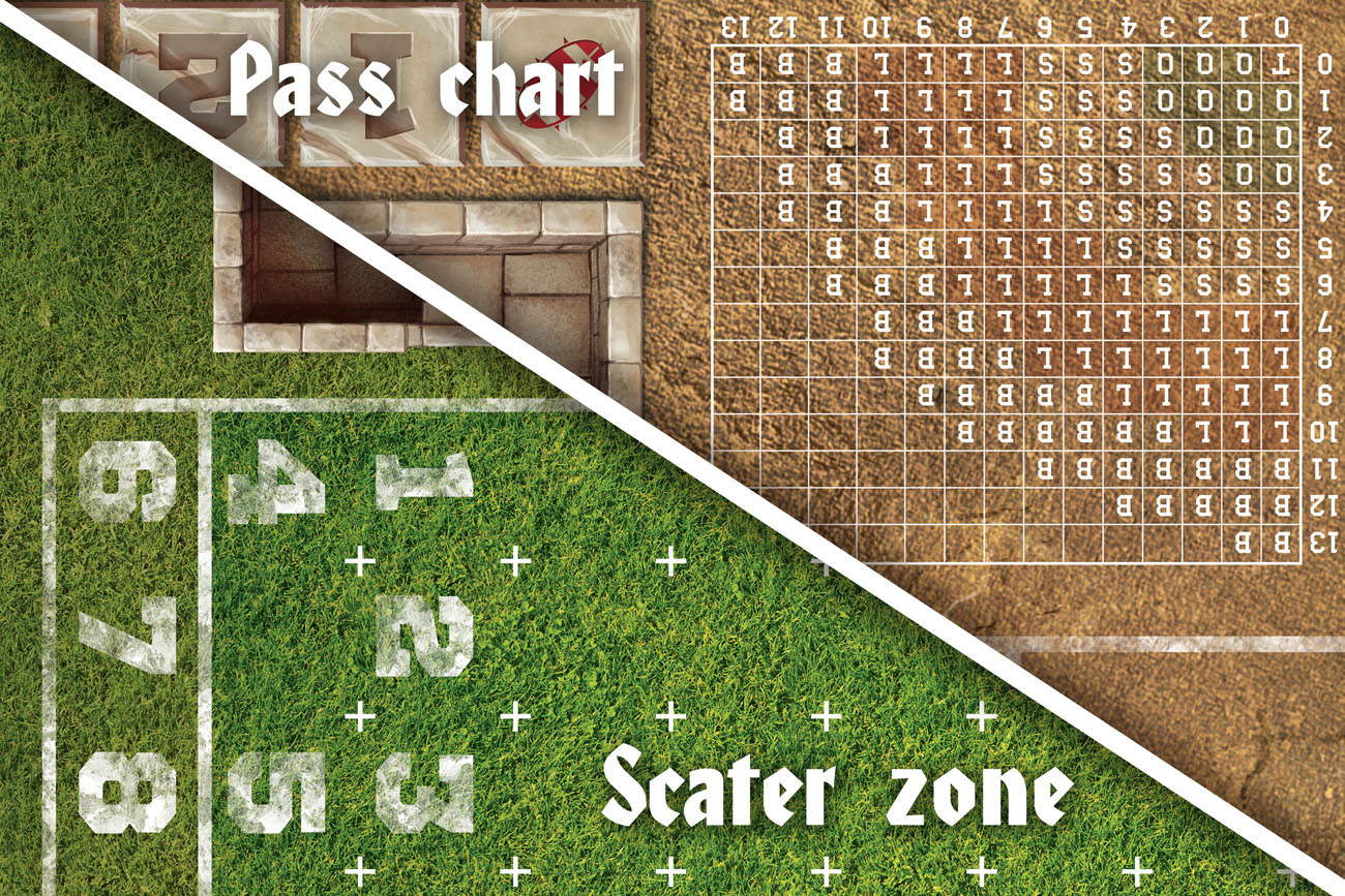 Champion S Bowl Game Mat For Blood Bowl