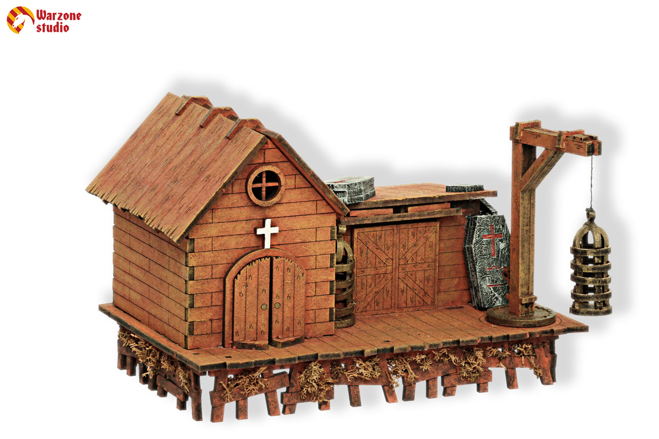 Wargaming terrain: Undertaker