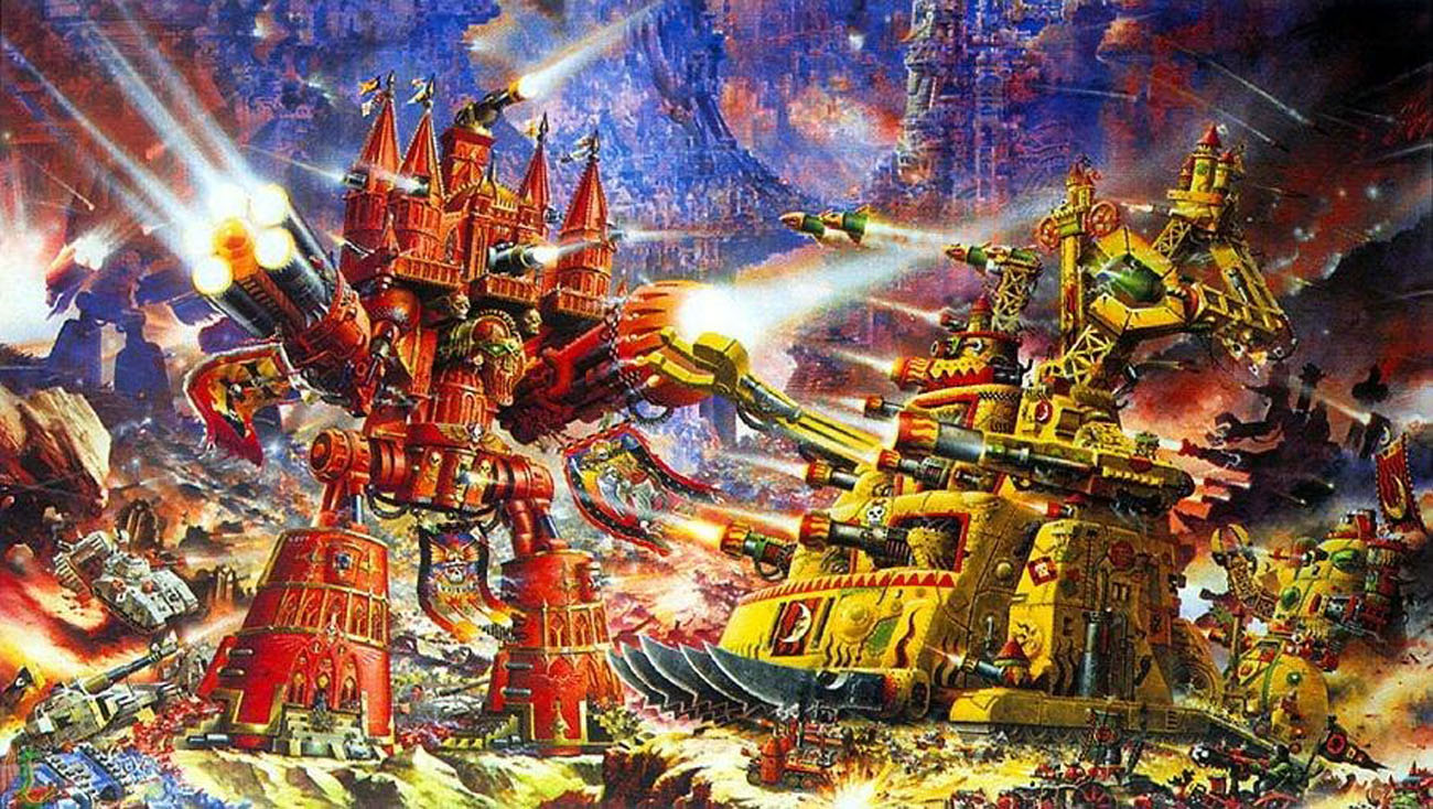 Image result for 40k early art