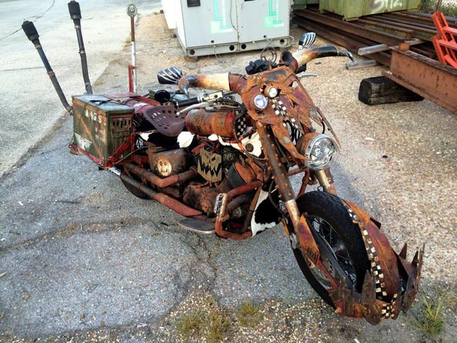 Self-made ork bike